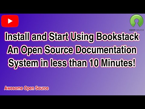 Bookstack, A Free, Open Source, Self Hosted Documentation Wiki With Style.