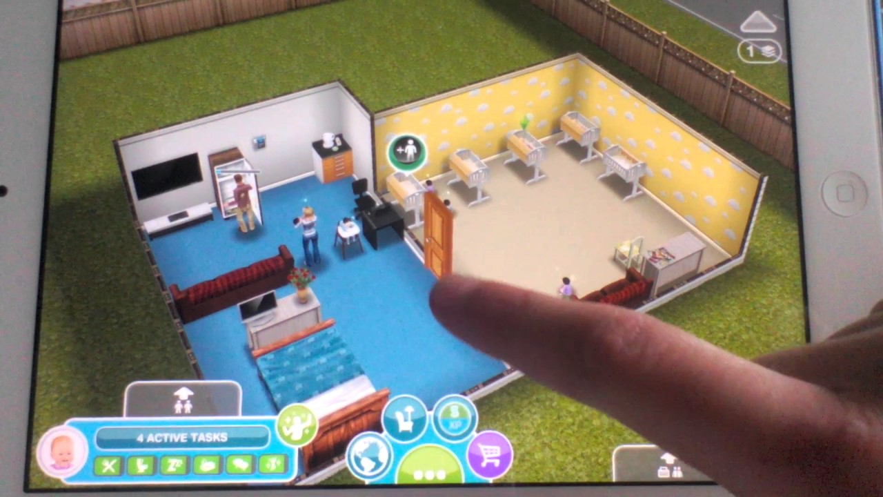 Sims freeplay baby glitch 2016 youtube for Baby bathroom needs sims freeplay