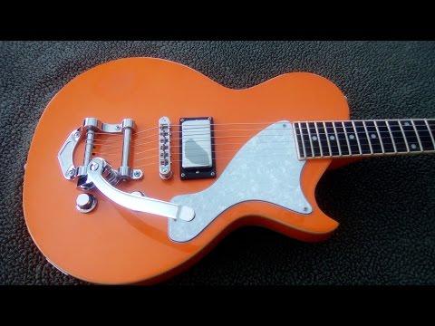 Do It Yourself - Building An AXL Retro Les Paul Jr. Style Guitar