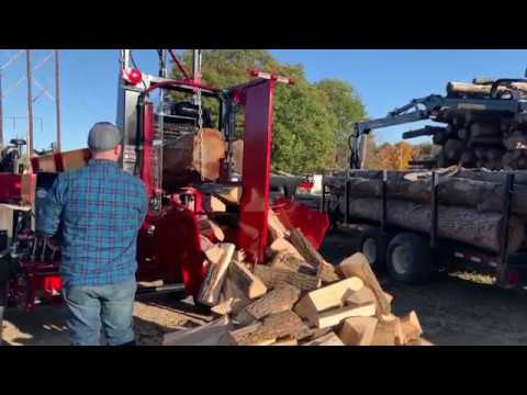 PRO-HD - Firewood Processor In Action!