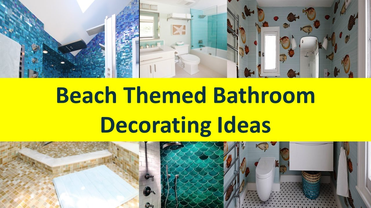 Ordinaire Beach Themed Bathroom Decorating Ideas   YouTube
