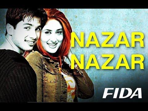 Nazar Nazar - Video Song | Fida | Shahid Kapoor & Kareena Kapoor | Udit N & Sapna | Anu Malik