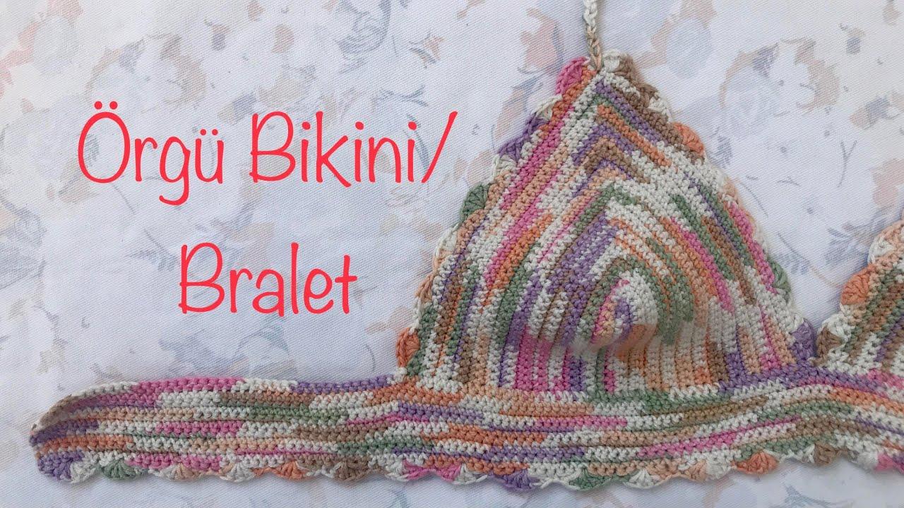 ADIM ADIM  ÖRGÜ BÜSTİYER  YAPILIŞI🌸🐞 #örgübüstiyer #crochetbustiyer# croptop