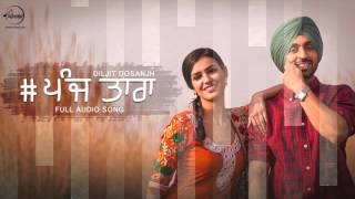 Download Hindi Video Songs - 5 Taara - Diljit Dosanjh | Full Audio Song | Latest Punjabi Songs 2016 | Speed Records