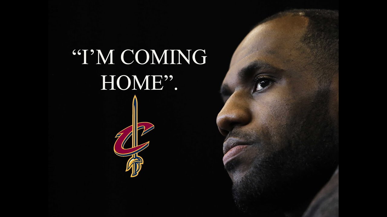 Image result for lebron going home