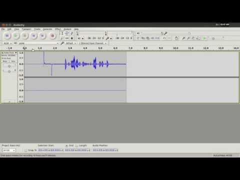 How to Transfer Tape Audio to Your Computer Using Audacity