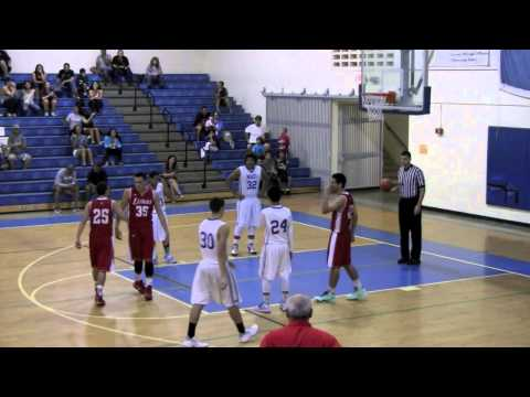 Cyrus Kama (C/O2015) Dunks vs MHS (Audio by ESPN AM900)