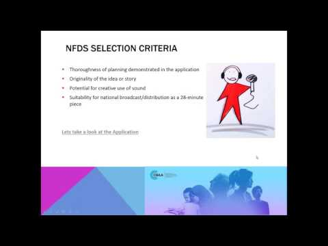 Your guide to contributing to the National Features & Documentary Series (NFDS)
