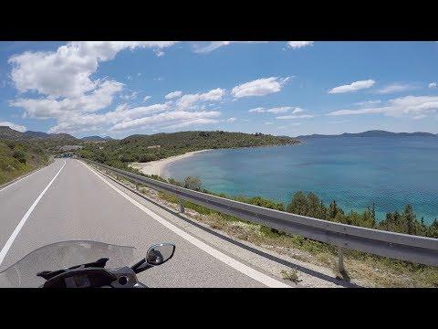 Croatia Part2, 15 days MC BMW K 1600 GTL, GoPro