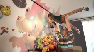 もしも「マリオのステッカー」がいっぱい貼ってあったらRino&Yuuma thumbnail