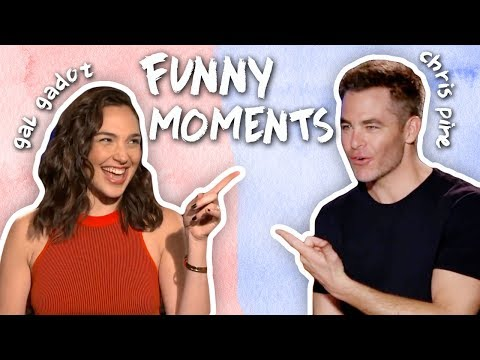 Gal Gadot & Chris Pine's Friendship! CUTE & FUNNY MOMENTS! Wonder Woman Interviews