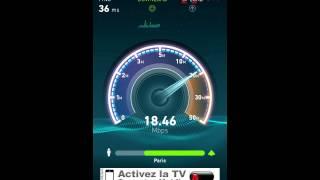 4g speed in paris