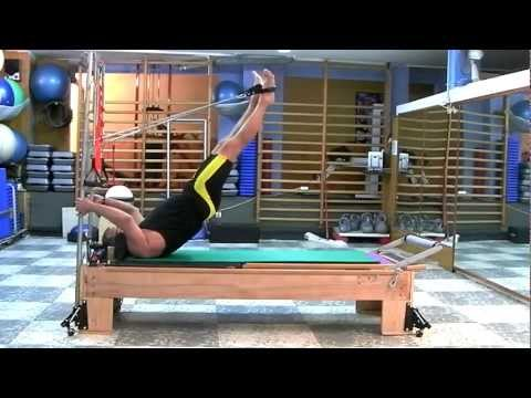 Pilates reformer tower.Parte 2