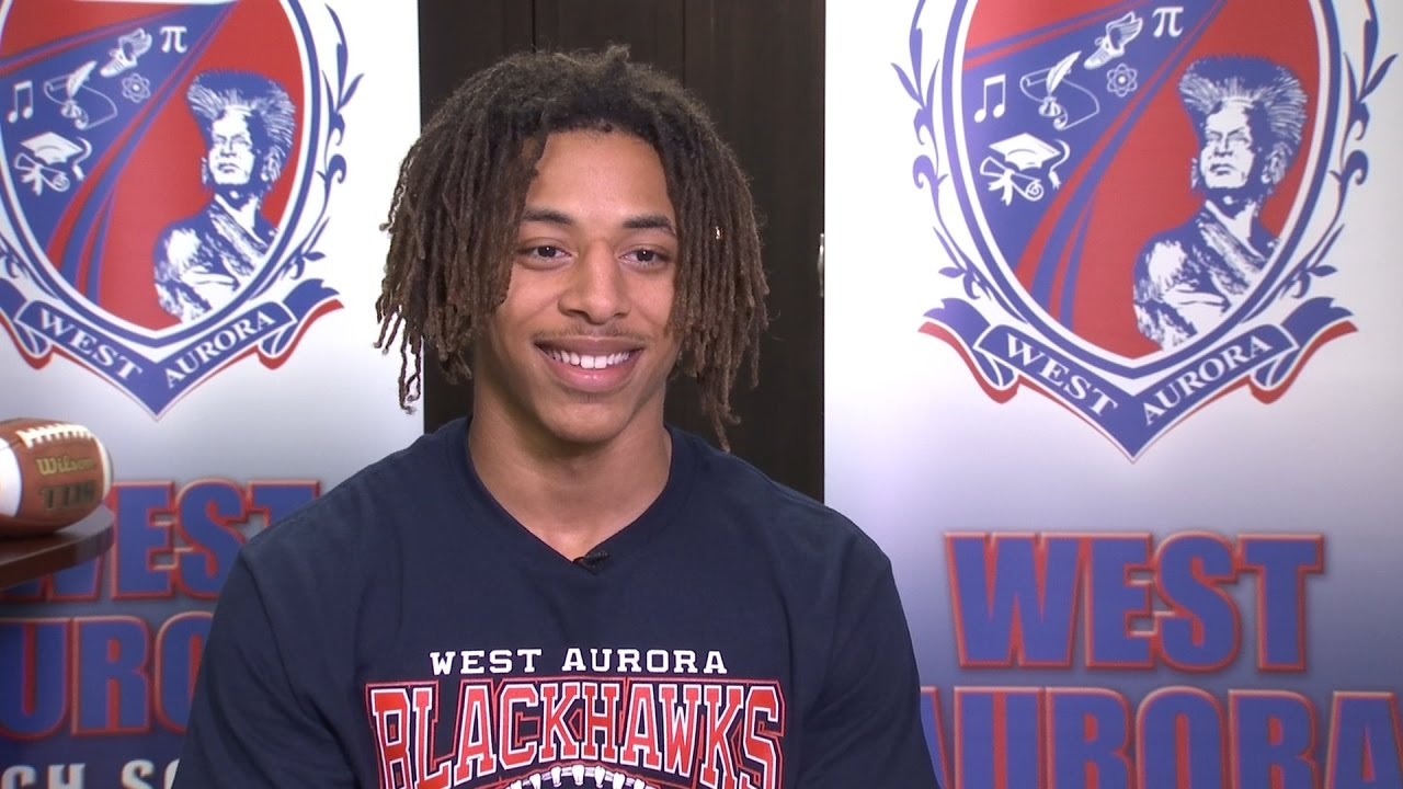 Daquan Cross West Aurora Football Xfinity Prep Profile Youtube