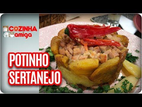 Potinho Sertanejo -  Patrícia Gonçalves | Cozinha Amiga (03/01/18)