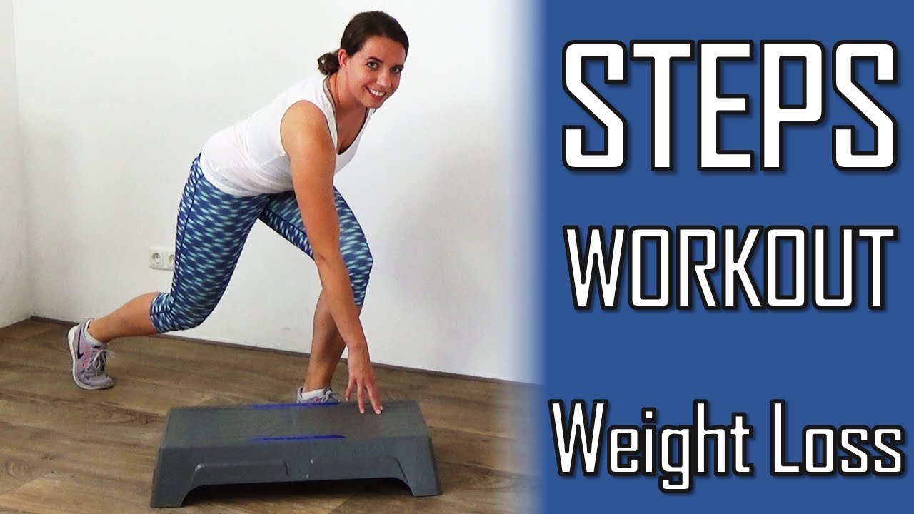 10 Minute Steps Workout for Weight Loss – Stepper Exercises Improving Fat  Loss 732e8785f