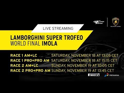 Lamborghini Super Trofeo WORLD FINAL 2017, Imola - PRO+PRO AM Race 1