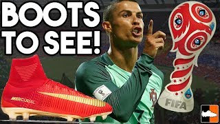Confederations Cup 2017 Boots, Ronaldo's New CR7, adidas Pack & More!
