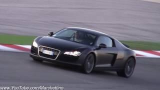 Audi R8 LOUD Accelerations Sound - Tubi Exhaust