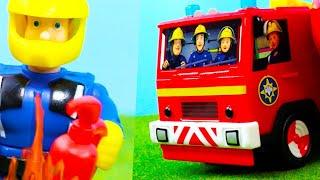 Feuerwehrmann Sam Spielzeug Deutsch | Neue Feuerwehrautos & Station für Kinder | Kinderfilm