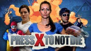 Press X to Not Die - Игровой фильм ужасов с чёрным юмором))))