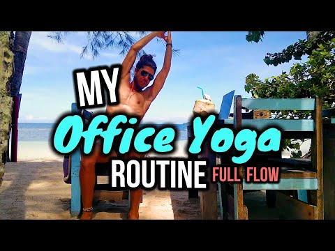 📎 My Office Chair Yoga Quickie Flow 🤘
