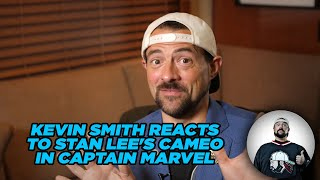 Kevin Smith Reacts to Stan Lee's Cameo in Captain Marvel