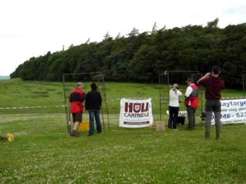 Clay Pigeon Shooting, Raby Castle Co Durham - 10th July 2011