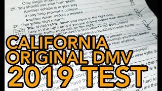 """2019 CA DMV WRITTEN TEST """"PRACTICE MODE"""" PRACTICE & LEARN FOR NEW APPLICANT, RENEWAL OR PERMIT EXAM"""