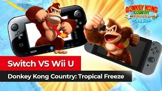 NINTENDO SWITCH VS Wii U | Comparamos las versiones de Donkey Kong Country: Tropical Freeze