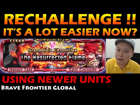 Resurrected Flame - Avant's Grand Gaia Chronicles Rechallenge (Brave Frontier Global)