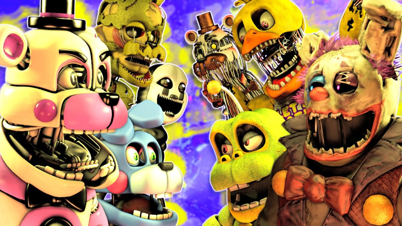 Download Top 5 CRAZIEST FNaF FIGHTS vs Animations