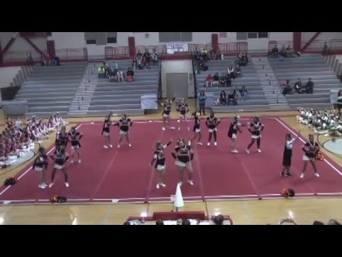 Beekmantown Cheering Invitational  2-11-16