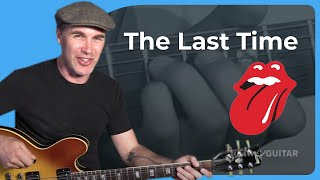How to play The Last Time by The Rolling Stones - Guitar Lesson Tutorial Keith Richards Brian Jones