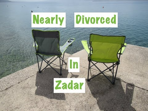 Nearly divorced in Zadar!