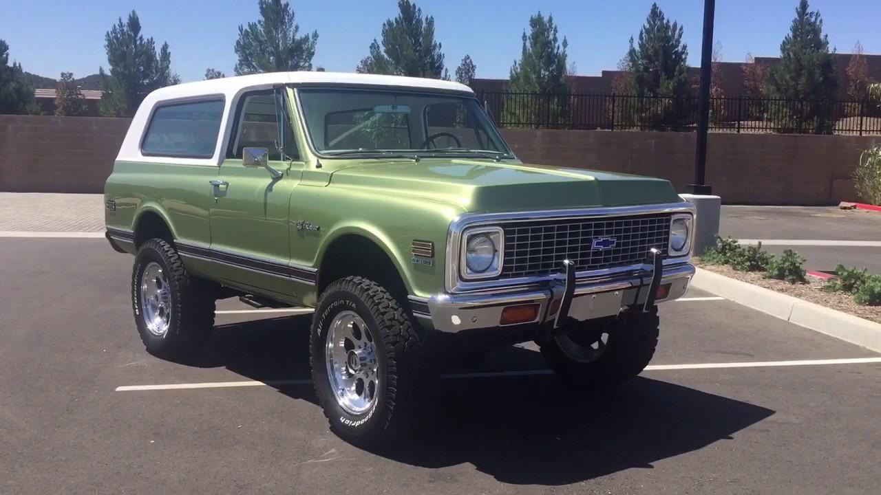 Blazer 1972 chevy k5 blazer : 1972 Chevrolet Blazer K5 FOR SALE 951.691.2669 - YouTube