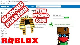 NEW PROMO CODE - Glorious Pharaoh of the Sun - FREE - Roblox