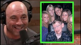 Joe Rogan - Stephen Hawking Went to Strip Clubs?