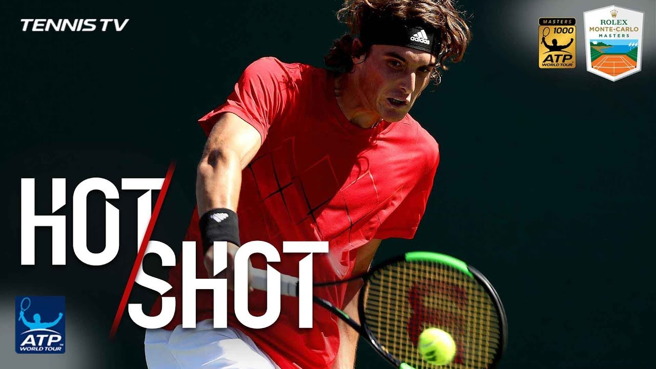Hot Shot: Tsitsipas Turns Defence Into Attack Monte-Carlo 2018