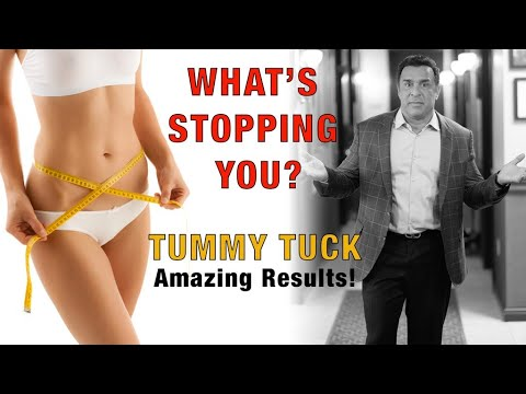 Tummy Tuck Surgery Part 1