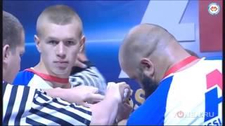 110кг кавказец против 70кг украинца Украина натянул арм реслинг руки на руках