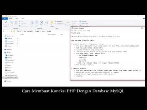Cara Koneksi Php Dengan Database