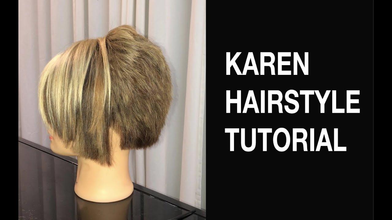 Karen Hairstyle Tutorial Does Salon Youtube