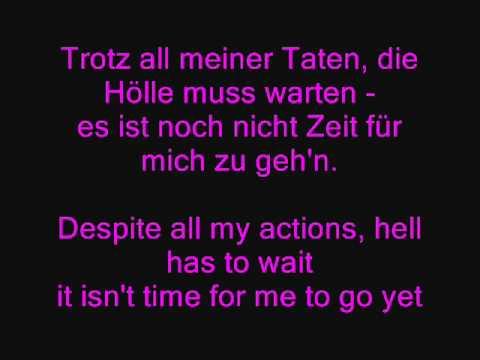 Eisbrecher Die Hölle Muss Warten German Lyrics + English Translation