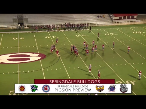 Springdale High School Football Showcase | Pigskin Preview