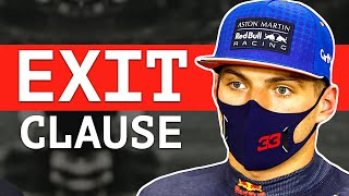 The Clause That Could Allow Verstappen To Leave Red Bull