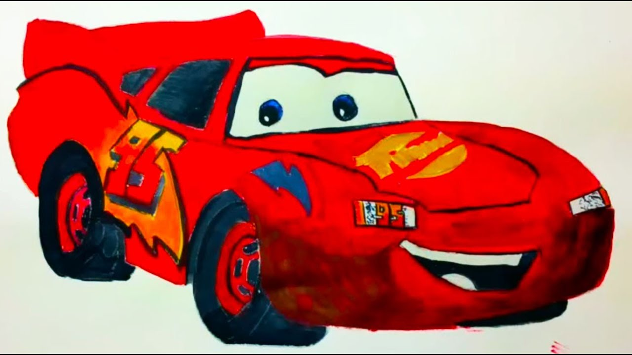 disney amp pixars lightning mcqueen from cars speed