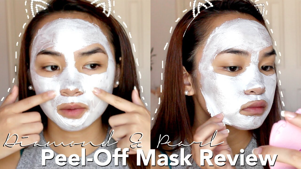 Diamond Peel Off Mask First Impression Review I Dew Care Disco Kitten Lisa Phan Youtube
