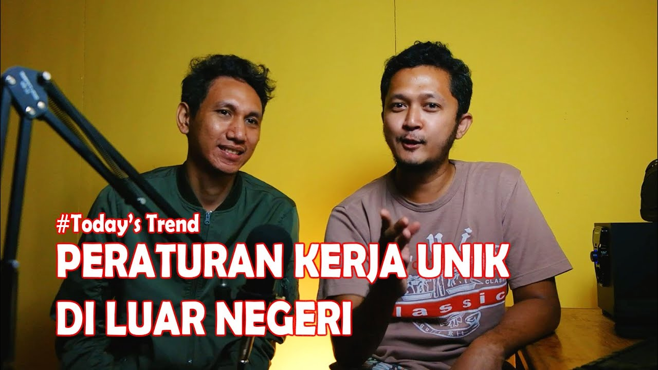 UU Cipta Kerja Indonesia Vs Luar Negeri Part 1
