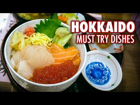 5 Must Try Dishes in Hokkaido | Japanese Food